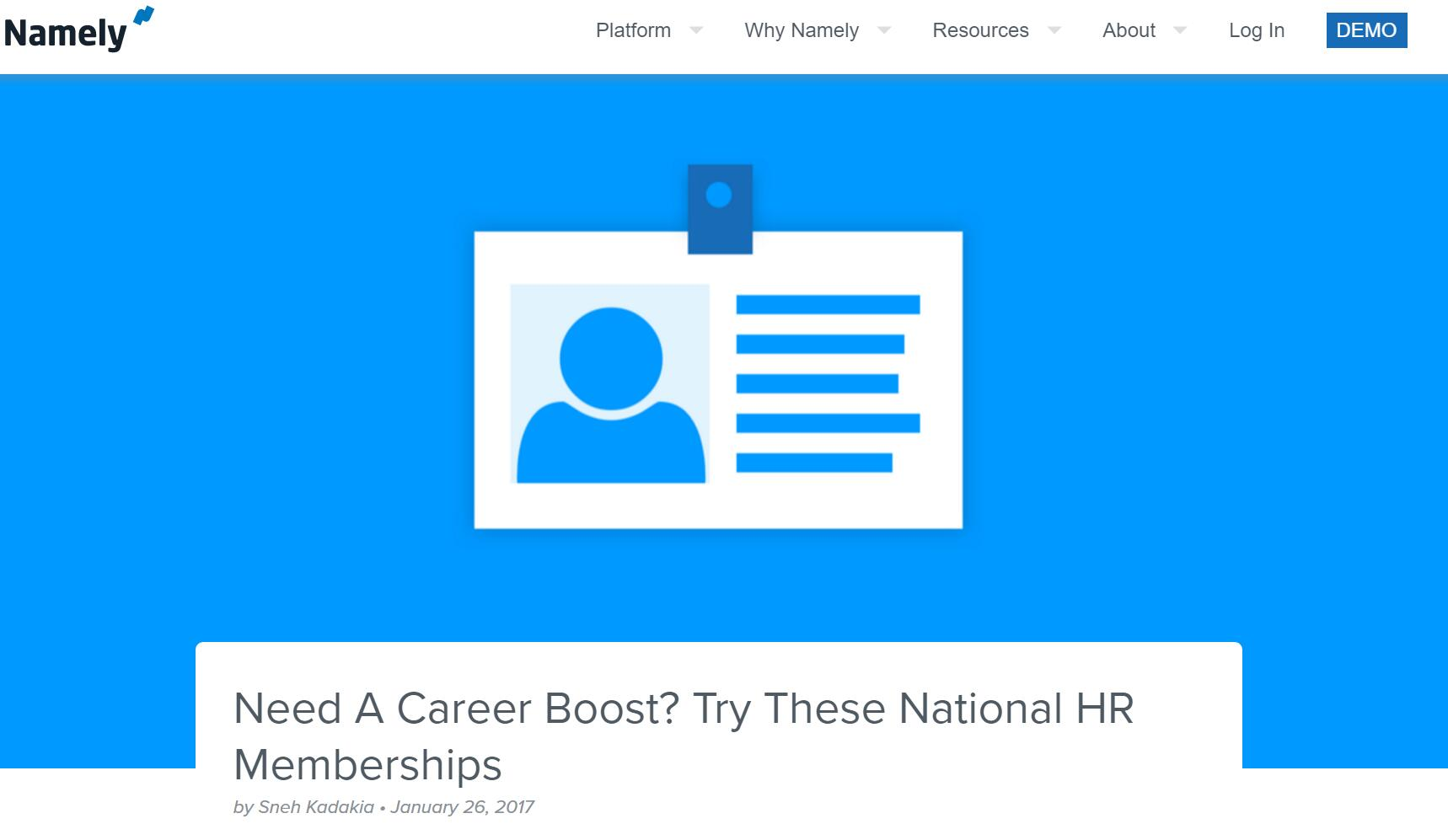 Need A Career Boost? Try These National HR Memberships